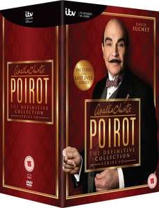 Agatha Christie's Poirot - The Definitive Collection (Series 1-13) [DVD] @ £ 58.73 Amazon