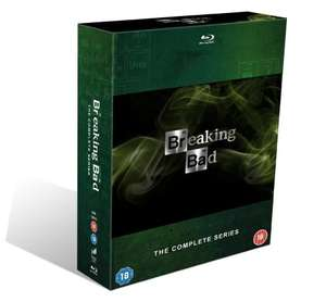 Breaking Bad The Complete Series Blu Ray £59.84 @ Amazon