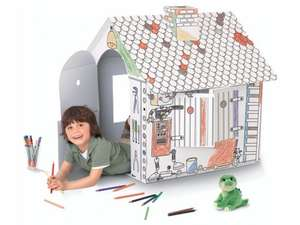 PLAYTIVE JUNIOR Colour-In Playhouse £6.99 @ Lidl from 5th June