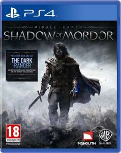 Middle Earth Shadow of Mordor - PS4 £37.85 / XB1 £36.90 at Boomerang
