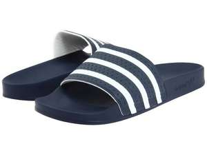 Adidas adilette £7 delivered on adidas.co.uk backstage (7% quidco possibly 20% with O2 priority) flip flops shower etc