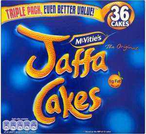 Mcvities Jaffa Cakes 36 Pack for £1 @ Jack Fultons