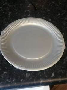 8 Silver Paper plates 4p @ Tesco instore