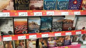 A song of ice and fire (game of thrones) entire book collection £24 @ ASDA