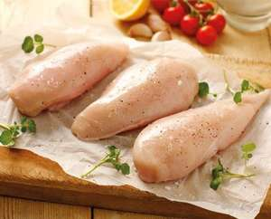 5kg chicken breast - £19.50 (min £20 order for delivery, £4.95 delivery for orders under £75) @ Westin Gourmet