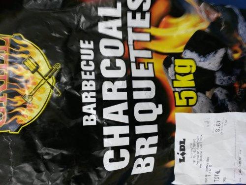 Bbq charcoal 5kg £2.89 @ LIDL