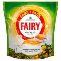 Fairy Clean & Fresh Citrus Grove Dishwasher Tablets 72 Pack Only £6.95 @ Iceland