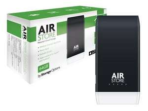 AirStore 64GB Wi-Fi SSD Personal Cloud Storage- Rechargeable - £29.98 incl delivery dabs.com