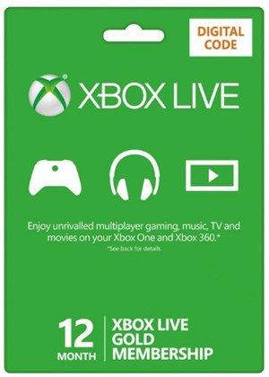 12 Month Xbox Live Gold Membership (Xbox One/360) £22.79 @ CDKeys.com