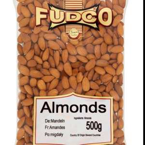 Fudco Almonds 500g for £4 @ Morrisons