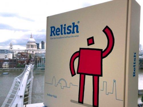 Relish fiber-fast wireless broadband is here!!!! £20pm @ Relish Broadband