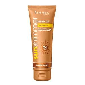 rimmel sunshimmer fake tan £2.99 @ savers