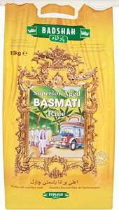 Badshah superior aged basmati rice 10kg £8.25 @ Tesco