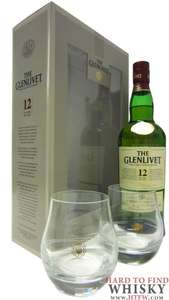 Glenlivet single malt 12 yr old + 2 glasses gift pack, £18.75 @ sainsburys in Harlow!