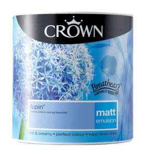 B&Q 3 for £30 Crown 2.5L Emulsion paint (£10 per pot!)