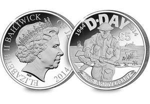 Own the NEW D-Day 70th Anniversary £5 Coin for £5 @ westminstercollection
