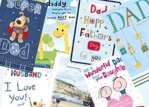 Free Father's Day Card @ WHSmith using O2 Priority Moments App