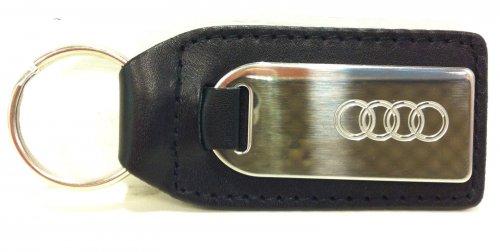 Audi Leather Chrome Keyring - Genuine Audi Accessory for £2.99 on ebay genuine.audi.parts