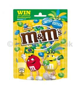 Limited edition world cup M&M'S 165g £1.00 @ sainsburys