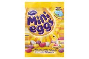2 Bags of 100g Mini Eggs for £1 @ Cadburys world (chatham KENT, dockside) maybe national?