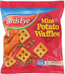 Birds Eye Mini Potato Waffles (456g) ONLY 98p @ Asda