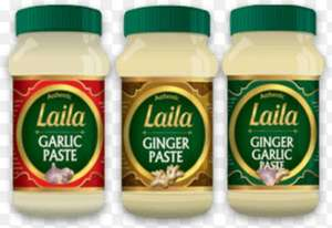 Laila Ginger/Garlic Paste 1Kg - £2.99 BOGOF @ Tesco...
