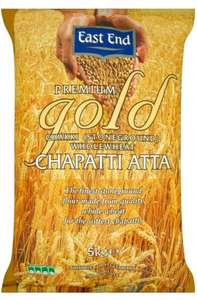 East End Premium Gold Chakki Stone Ground Wholemeal Chapatti Atta (5Kg) - Now £4 @ Asda...