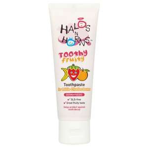 Halos N Horns toothy fruity toothpaste - 50p @ Asda