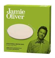 Jamie Oliver Pizza Stone and Serving Rack reduced to £4, Tesco Longton