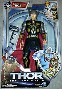 Marvel: Thor Hammer Talking Launch Figure £9.99 @ Home Bargains