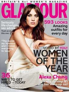 Free Clinique makeup with Glamour Magazine out NOW!
