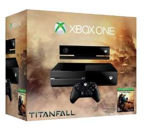 Xbox One Titanfall one day Only @ Amazon for £349.86 plus £20 off Watch Dogs