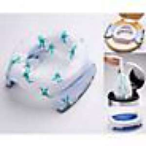 Potette Plus Convertible Travel Potty, White/Blue, £6.99 + £3 delivered or free c&c @johnlewis