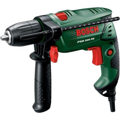 Bosch PSB 500 RE Hammer Drill - 500W @ Homebase - £29.99