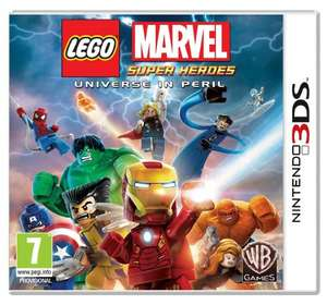 Lego Marvel Super Heroes 3DS £14.86 at Amazon