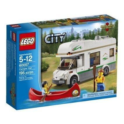 LEGO City Great Vehicles 60057: Camper Van £13.51 @ Amazon