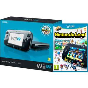 Nintendo Wii U 32Gb Premium Console & Nintendo Land Game @ Clearance Bargains (Walsall) - £134.99