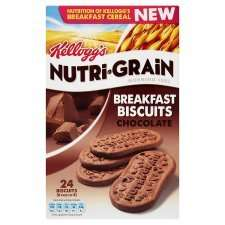 Kelloggs Nutrigrain Breakfast Biscuits Chocolate was £2.50 each now 3 for £3 @ Tesco online and instore