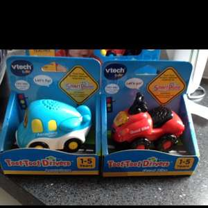 VTech toot toot vehicles down to £4.32 in sainsburys team valley