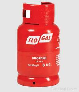 Cheap Propane & Butane gas for your BBQ 6KG inc Gas Bottle £12.99 FREE delivery @ GasDeal