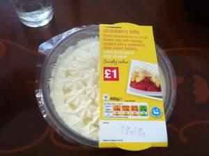 Strawberry trifle *Co-Operative food - Simply value range* For ONLY £1 @ Co-Op