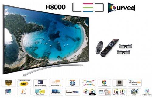 """Samsung UE48H8000 LED TV 48"""" Curved 3D Smart HD £1302 including delivery @ Totaldigital"""