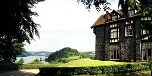 Room and dinner for 2 at Lake Vyrnwy Hotel in Powys £149 @ TravelZoo
