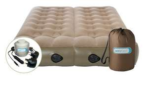 Aerobed dual zone double camping bed £64.99