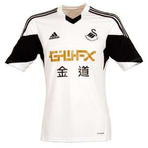 Swansea City 13/14 shirts from £10 (+£4.95 delivery) also socks & shorts