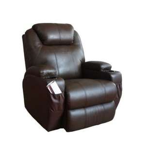 proper world cup reclining chair *massage* *heated* *reclining* £195 @ ebay / furnisho