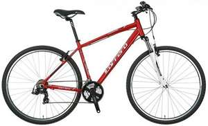 Carrera Crossfire limited edition Hybrid bike2014 £180 at Halfords