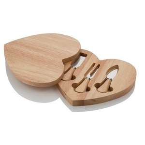 Viners Heart Shaped Cheese Board and Knife Set £4.99 @ Home Bargains