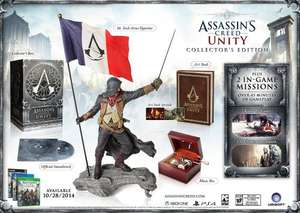 Assassins Creed: Unity code for the Guillotine Spin to Win Game @ Amazon