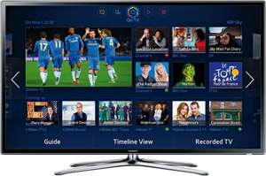 Samsung UE40F6320 40-inch Widescreen Full HD 1080p Smart 3D LED TV with Built-In Wi-Fi and Freeview HD  + 2 x 3D Active Glasses [4x HDMI / Miracast / 3x USB] £399.99 @ Argos ebay *New*